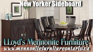 Mennonite New Yorker Style Sideboard