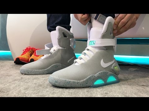 We Wear-test The Self-lacing Nike MAG. It's Awesome!