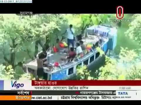Scenic beauty continues to amaze at Tanguar Haor (10-12-2017)