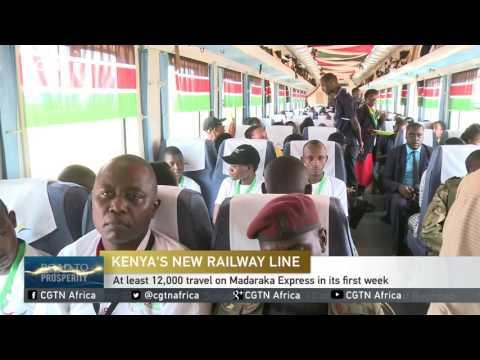 Kenya's New Railway: At least 12,000 travel on Madaraka Express in its first week