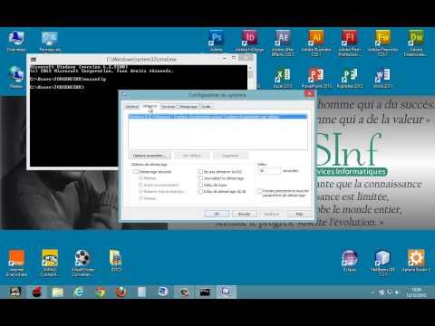 comment démarrer en mode sans echec sous windows 8.1
