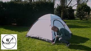 Легкая компактная палатка  High Peak Monodome XL