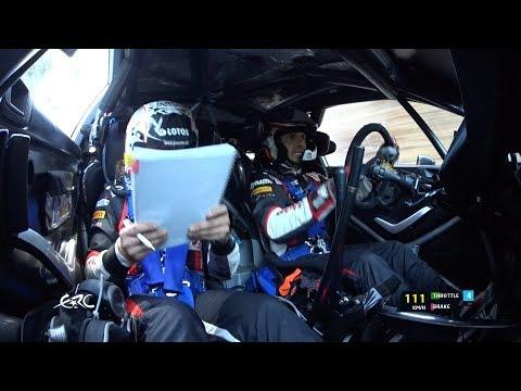 2017 Rally di Roma Capitale - OBC Kajetanowicz on SS5 with data