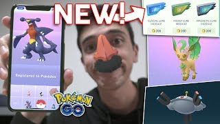 HOW TO GET LEAFEON, GLACEON, PROBOPASS, MAGNEZONE IN POKÉMON GO! NEW LURES! by Trainer Tips