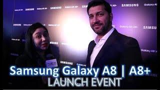 Samsung Galaxy A8   A8 Plus Launch Event