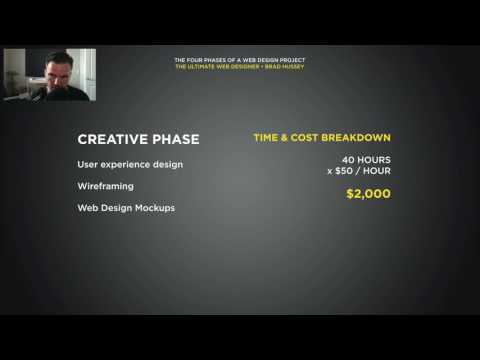 003 The Four Phases of a Web Design Project  Cost Estimates