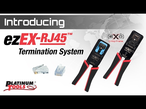 The NEW ezEX-RJ45 Termination System!