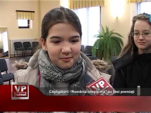 """Câştigătorii """"România citeşte-mă"""" au fost premiaţi"""