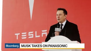 Musk Takes Aim at Panasonic Over Tesla Battery Production