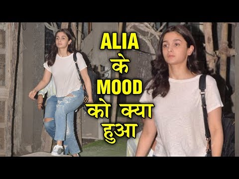 Alia Bhatt CAUGHT In BAD MOOD, Fight With Ranbir K