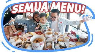 Video BELI SEMUA MENU DI KFC!!! #BORONG Wkwkwkw MP3, 3GP, MP4, WEBM, AVI, FLV Februari 2019