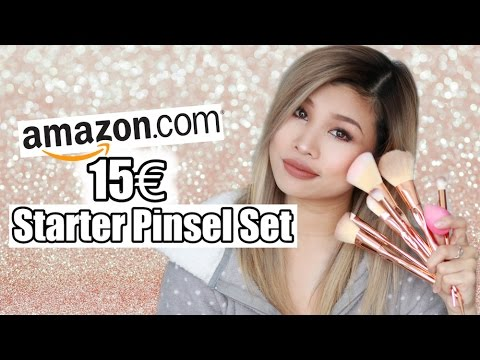 15€ STARTER PINSEL SET VON AMAZON IM LIVE TEST l Kisu