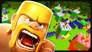 Video Clash of Clans + Minecraft MP3, 3GP, MP4, WEBM, AVI, FLV Oktober 2017