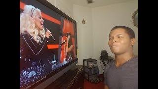 Video CHRISTINA AGUILERA - The Voice Coaching Season 8 (REACTION) MP3, 3GP, MP4, WEBM, AVI, FLV Juni 2018