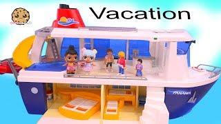 Video Strange Cruise Ship Trip - LOL Surprise Dolls On Playmobil Vacation  Part 4 MP3, 3GP, MP4, WEBM, AVI, FLV Oktober 2018