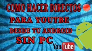 Hoy les voy a enseñar un tutorial de como hacer directos en tu android sin con una aplicacion muy buenaLinks Gusher:https://play.google.com/store/apps/details?id=com.smamolot.gusher(Meta 10 Like)👍