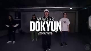 Dokyun – Poppin Class Poppin routine @ Justjerk Dance Academy