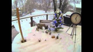 Winter is Coming - Time Lapse Snow - Blizzard 2016