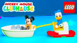 MICKEY MOUSE CLUBHOUSE Disney Mickey Mouse Beach House Assistant Toy Review Video