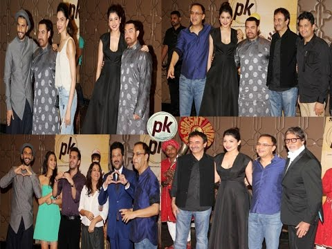 Celebs At Grand Success Party Of Film PK