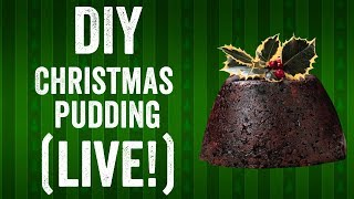 DIY Christmas pudding recipe (live stream!) by  My Virgin Kitchen