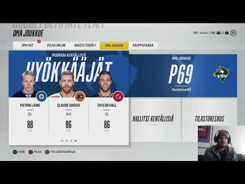 NHL 18  PALATAAN TAKAISIN RIKOSPAIKALLE!