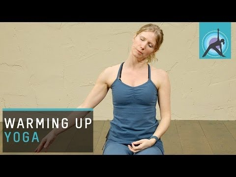 Warming up for Yoga - http://www.EkhartYoga.com Warming up for Yoga is a lovely way to ease into your Yoga practice. As well a great little practice for beginners. Please subscrib...