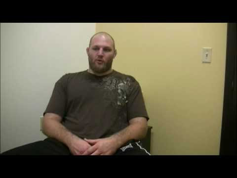 Ben Rothwell discusses UFC 115 Fight vs Gilbert Yvel