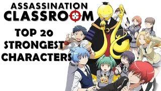 Video Top 20 Strongest Assassination Classroom Characters (Manga) MP3, 3GP, MP4, WEBM, AVI, FLV April 2018