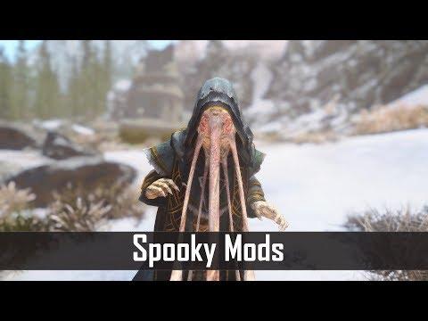 Skyrim: 5 Spooky and Scary Mods for The Elder Scrolls 5 (Skyrim SE PC/Xbox One mods) (видео)
