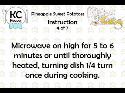 Video of KC Pineapple Sweet Potatoes