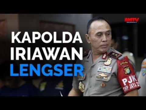 Kapolda Iriawan Lengser