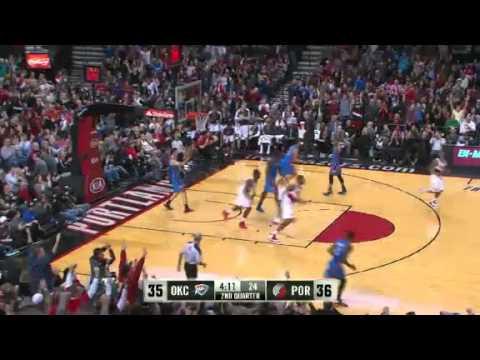 Oklahoma City Thunder 87 – Portland Trail Blazers 83