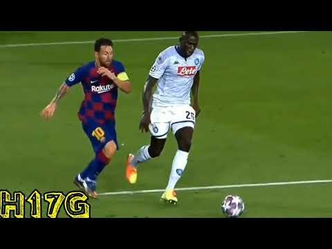 Duro Golpe entre Messi y Koulibaly
