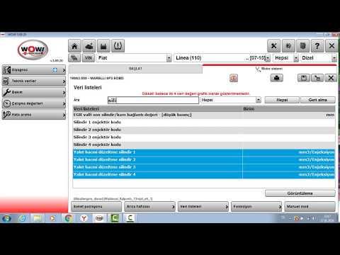 Würth orjinal universal arıza tespit cihazı kullanımı motora bağlanma 5.0.20 versiyon anlatımı