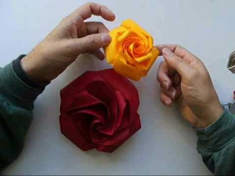 origami rose no2
