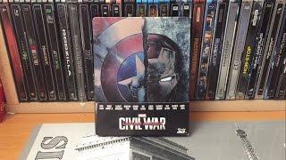 Nonton Steelbook - Captain America: Civil War (édition Fnac) Film Subtitle Indonesia Streaming Movie Download