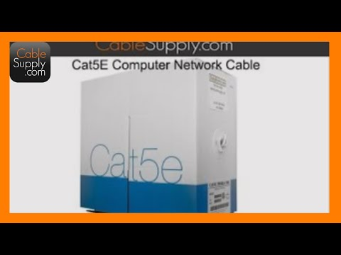 cable supply - http://cablesupply.com Our technicians were recently at a job site, installing Ethernet cable into an office building for a new phone system and data network...
