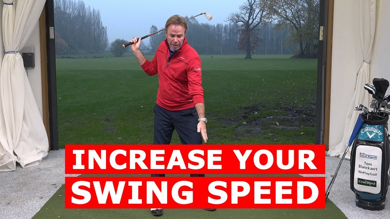 How To Increase Your Golf Swing Speed and get more distance