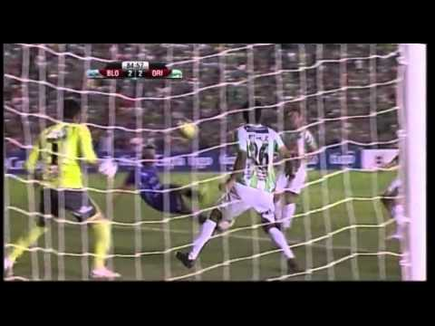 Blooming subasta polera de gol histórico