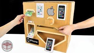 Video How To Make Apple iPhone Vending Machine From Cardboard MP3, 3GP, MP4, WEBM, AVI, FLV Juli 2018