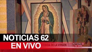 Preparativos para bienvenida de la virgen en Los Ángeles – Noticias 62 - Thumbnail