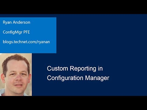 Custom Reporting in System Center Configuration Manager 2012