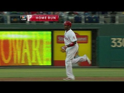 Video: MIA@PHI: Howard's solo shot gives Phils early lead