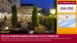 Eltville Germany  City new picture : Schloss Reinhartshausen Kempinski Eltville Frankfurt (Eltville, Germany)