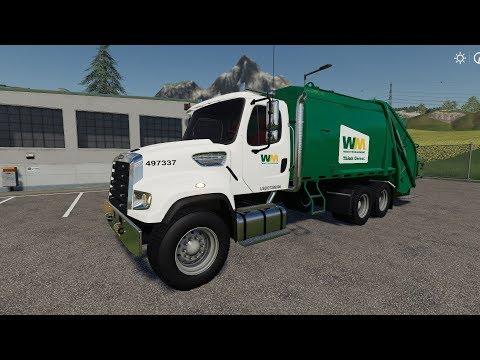 Freightliner F114SD Garbage Truck v1.0.0.0