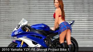 9. MotoUSA 2010 Yamaha YZF-R6 Graves Project Bike Part 1