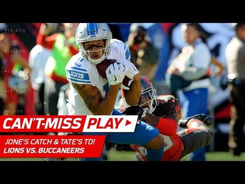 Video: Marvin Jones' Diving Catch Leads to Golden Tate's TD Grab! | Can't-Miss Play | NFL Wk 14 Highlights