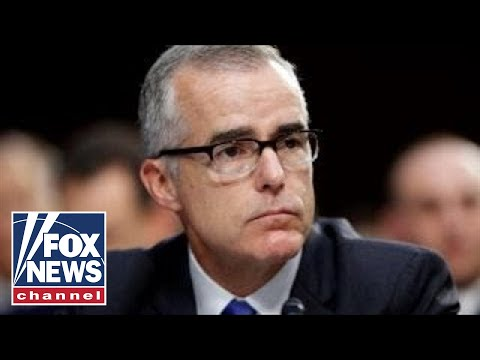 Report: Andrew McCabe seeking immunity