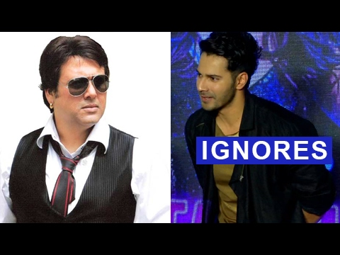 Varun Dhawan Ignores Govinda's Insulting Comments